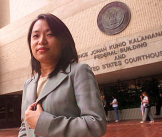 Candy Choi / photo credit: FL MORRIS, Honolulu Star Bulletin