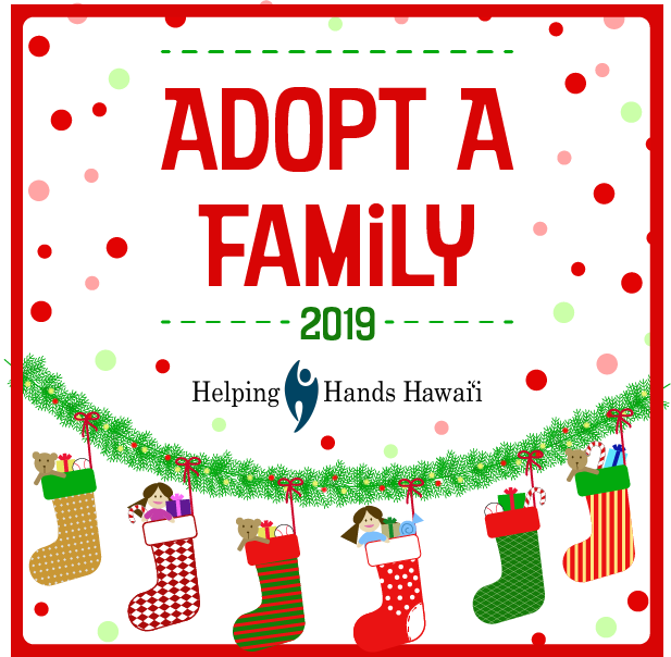 Adopt A Family For Christmas.Helping Hands Hawaii Helping People Help Themselves