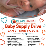 Baby Supply Drive - 8.5 x 11 Poster