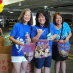 Board Member Faye Kurren, President and CEO Jan Harada and BAL Program Manager Jessica Daniels