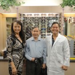 Nina, Dr. Lee and Client