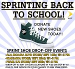 SPRINTING BACK TO SCHOOL POSTER