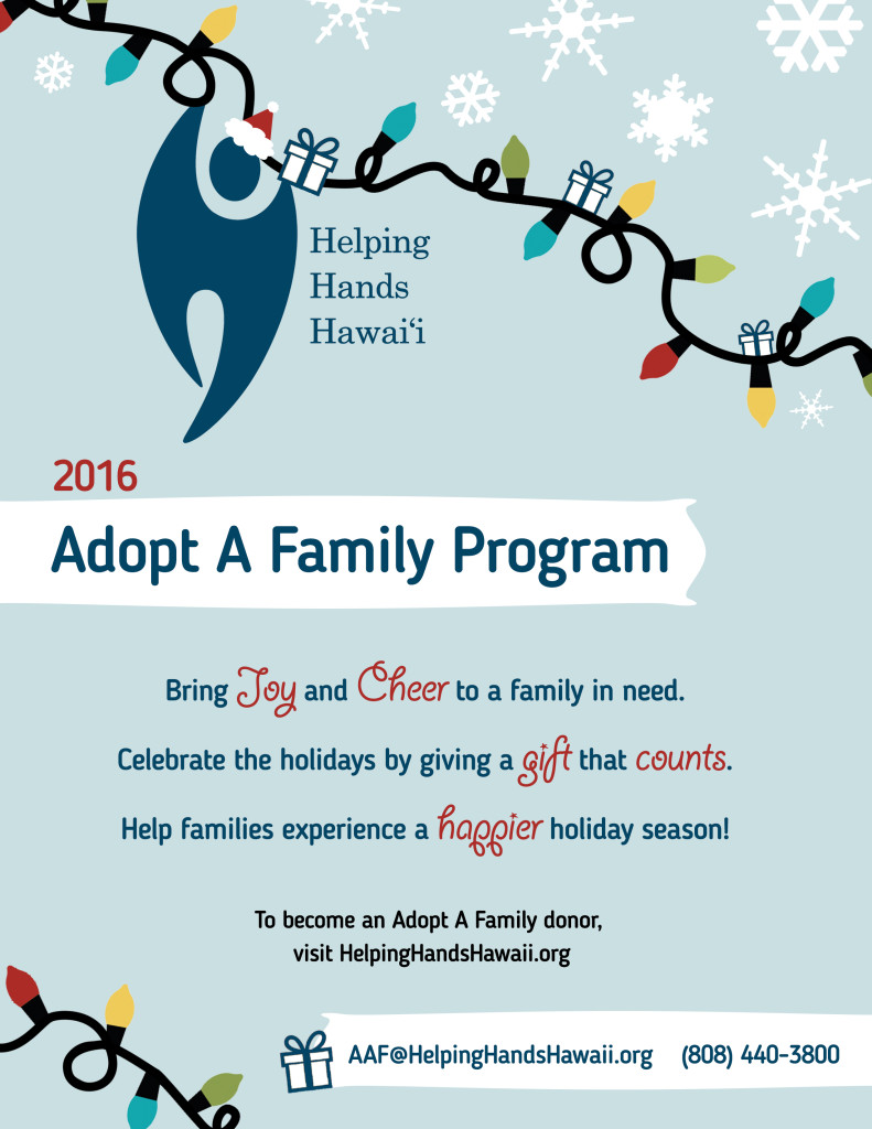 donors give the gift of hope through adopt a family program